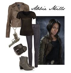 Abbie Mills Inspired Outfit - Fox's Sleepy Hollow