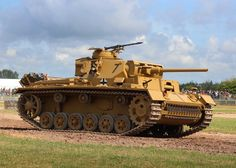 Pzkpfw-III Ausf.L (early production) w/  20mm spaced armor  by DavidKrigbaum