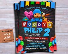 Invitación de Pocoyó invitación de Pocoyo Pocoyo por Wrightdrawing