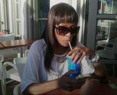 Bhoza Mphela #bangs #fringe Cape Town, Four Square, Bangs, Fringes, Bangs Hairstyle, Pony