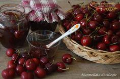 Marmellata di ciliegie - Pastaenonsolo