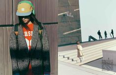 AUF DEM SPRUNG for business supplement (Vogue Germany)