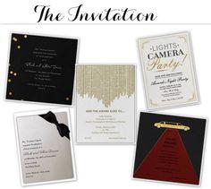 Linen, Lace, & Love: Oscar Party Ideas #Oscars2013 #Oscarparty #party