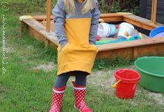 Der Herbst steht in den Startlöchern. Mit diesem Sweatkleid aus mehreren Schnitten kombiniert, das perfekte Kleidungsstück für nähen. Wir zeigen euch wie.