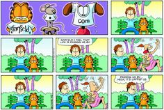 Garfield & Friends | The Garfield Daily Comic Strip for May 28th, 2000
