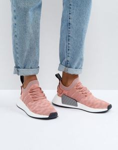 adidas Originals NMD R2 Sneakers In Pink