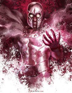 X-MEN: Magneto by ArtofTu.deviantart.com on @DeviantArt