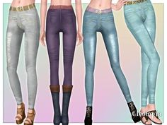 Cleotopia's Hipster high waisted Jeans