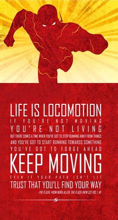 The Flash. iPhone Wallpapers 8 Superheroes Quotes, tap to see all! - @mobile9