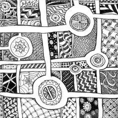 zen doodle designs | Zen Doodle Art