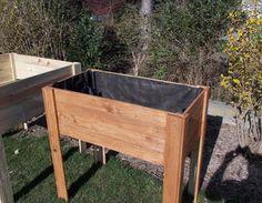 potager palette haut potager sur lev en palettes recycl es j 39 ai. Black Bedroom Furniture Sets. Home Design Ideas