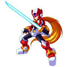 Megaman X9- Zero by ultimatemaverickx on deviantART