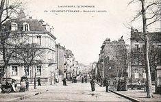 Boulevard Lafayette à Clermont Ferrand Clermont Ferrand, Rhone, Louvre, France, Lafayette, Scrapbooking, Painting, Auvergne, History
