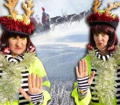 Book our Christmas Lollipop Ladies. Our comedy walkabout act is available to hire for Christmas-themed events in the UK & London.