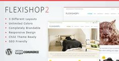 Primathemes has returned with its second theme in the re-brandable Flexishop series. Flexishop 2 is quite simply the last wordpress e-commerce theme you will ever need. It features a huge array of color, font, and layout options which let you change just about anything on the site, it even includes 3 different layouts for that unique look.