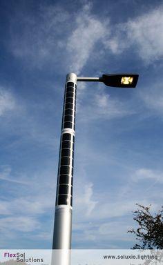 Soluxio solar light post solar powered street light solar street soluxio solar light post solar powered street light solar street light soluxio pinterest street lights solar and smart city aloadofball Choice Image
