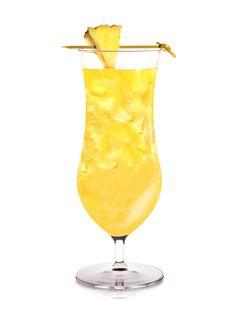 SKYY Castaway ~ Pineapple vodka, orange juice, pineapple juice, ginger liqueur, fresh lime juice