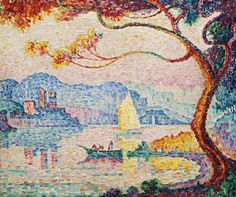 The Athenaeum - Antibes, The Small Port of Bacon (Paul Signac - )