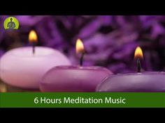 6 HOURS MEDITATION MUSIC FOR POSITIVE ENERGY, RELAX MIND BODY, HEALING MUSIC - YouTube