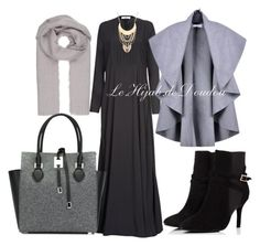 """""""Hijab Outfit"""" by le-hijab-de-doudou ❤ liked on Polyvore featuring Michael Kors"""