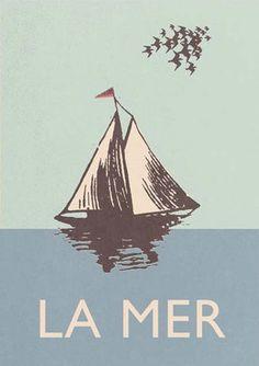 La mer, the sea