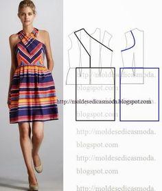 Plantillas de moda para la medida: TRANSFORMACIÓN DE VESTIDOS _71
