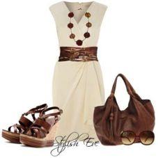 Nice neutral work dress