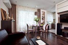 Интерьер квартиры-студии 33 кв. метра - Дизайн интерьеров   Идеи вашего дома   Lodgers