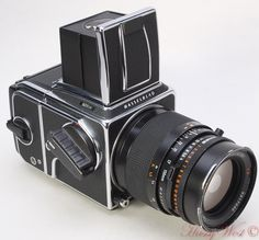 Hasselblad 501CM camera w/ Zeiss Sonnar 150mm 1:4 lens