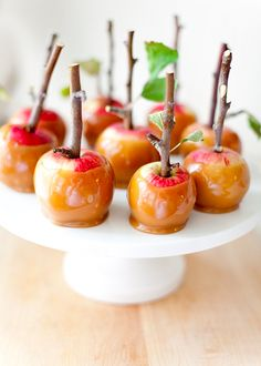 Mini Caramel Apples | Top 5 Pins: Inspired Sweets | HelloSociety Blog