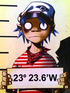 2d – Gorillaz is perfection. Welcome to plastic Beach