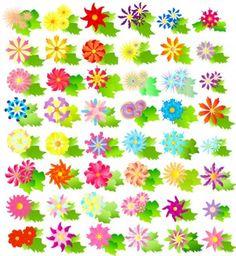 colorful vector flowers Vector Flowers, Graphic Design Art, Earthy, Adobe Illustrator, Vector Art, Peonies, Colorful Flowers, Illustration, Free