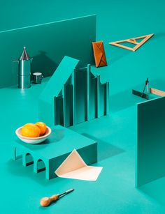 Veuve Clicquot Calendar - Wallpaper* 2013 | Photography: Qiu Yang | Set design: Elena Mora