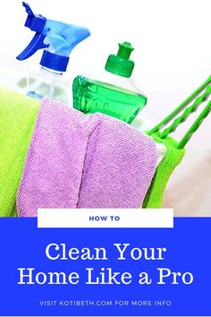How to clean your home like a professional. Get tips from the pro cleaners for a clean home.  How to keep a happy home with these hacks and habits for a clean house. Get good idea for deep cleaning your home. Learn how to keep a clean home with these expert tips. Find inspiration for keeping a clean home. #homemaking #cleaning #cleanhouse Eco Friendly Cleaning Products, Natural Cleaning Products, Weekly Cleaning, Deep Cleaning, Cleaning Recipes, Cleaning Hacks, Hallway Flooring, Professional Cleaners, Organization Hacks