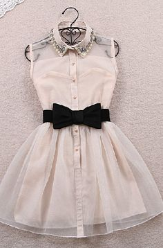 Cute Sleeveless Dress