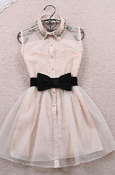 Cute Sleeveless Dress