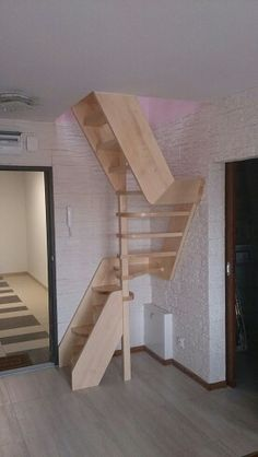 59 Best Stairs For Small Spaces Images Attic Ladder Attic Spaces