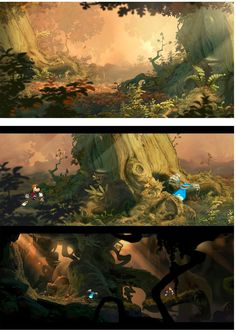 Mais artes de Rayman Legends, desta vez por Christophe Messier   THECAB - The Concept Art Blog