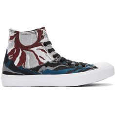 Converse Multicolor Engineered CTAS II High-Top Sneakers (315 BRL) ❤ liked on Polyvore featuring men's fashion, men's shoes, men's sneakers, multicolor, converse mens shoes, mens high top sneakers, mens lace up shoes, colorful mens shoes and converse mens sneakers