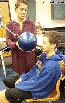Physics ball drop experiment gone wrong | Gif Finder – Find and Share funny animated gifs