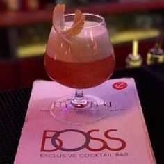 Taste and beauty premium cocktails by Boss exclusive Bar .