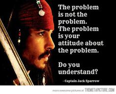 The problem is not the problem…
