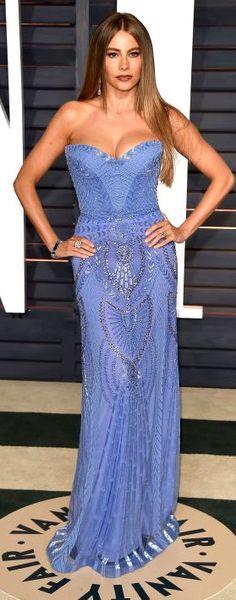 SOFIA VERGARA At the 2015 Vanity Fair Oscar Party in Beverly Hills, California on Feb. 22, 2015.