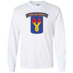 Show your 196th Light Infantry Brigade pride with this White Performance Long Sleeve Shirt. This performance shirt features 100% Polyester antimicrobial, moisture wicking fabric that will keep you cool, dry, and comfortable. THIS IS A PERFORMANCE FABRIC SHIRT, NOT COTTON. Designed, Printed & Sublimated in the USA -Fabric Imported.