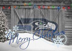 Seattle Seahawks Greeting Card by Joe Hamilton