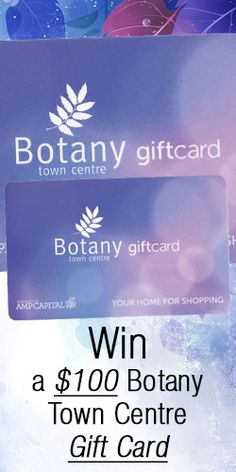 #Win a $100 Botany Town Centre #Gift Card! #competition #voucher #shopping