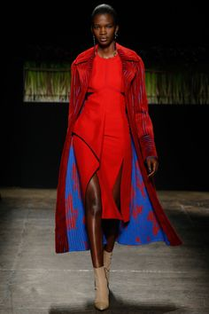 fashion–victime:   Aamito Lagum for J. Mendel...   Style is Viral