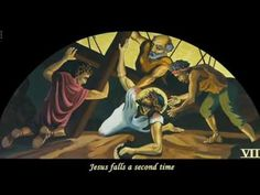 Stations of the Cross, painted by A. Vonn Hartung in 2001-02