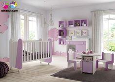 Habitación Infantil con cuna 547-S112014