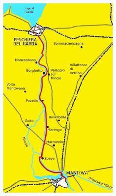Un percorso ciclabile pianeggiante, adatto anche alle famiglie di 43.5 Km lungo le alzaie del fiume Mincio, fuori dal traffico e dai rumori e immerso nel verde. Camper, One Day Trip, Survival Tips, Trekking, Places To Visit, Travel, Mtb, Wanderlust, Google